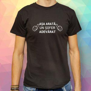 Tricou-Auto-Sofer-Adevarat-negru